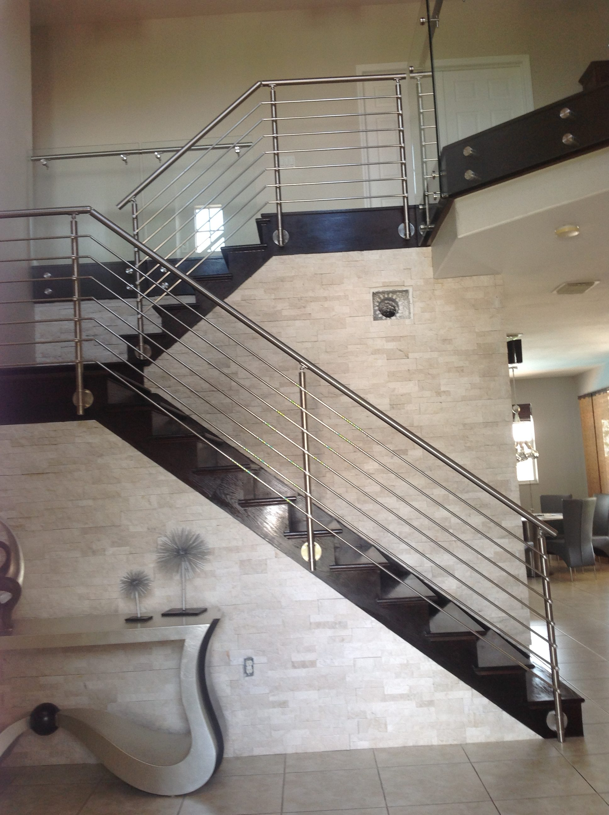 Crossbar and Cable Rail Gallery - STAIRS   GLASS RAILINGS ...